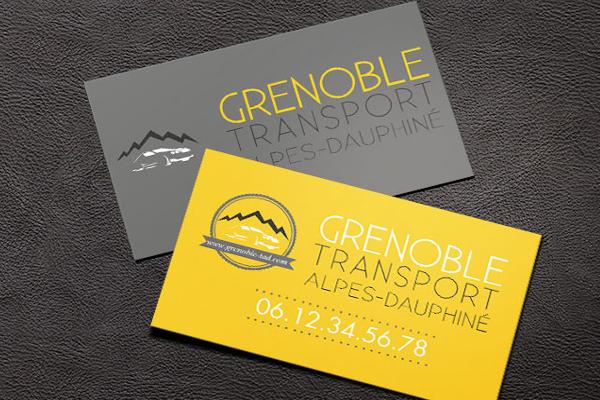 Identité Visuelle Taxi Grenoblois