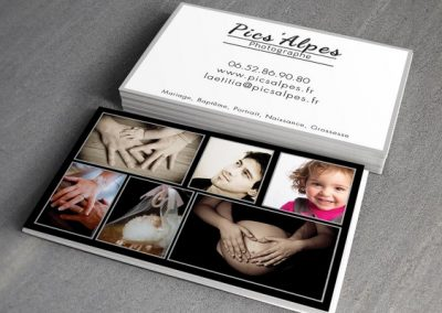 Cartes de Visite – Photographe