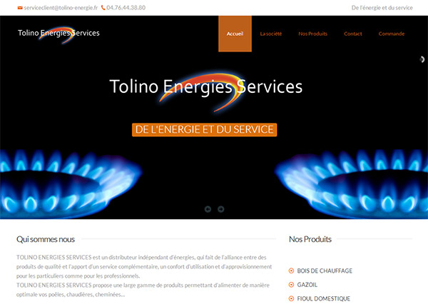 Refonte du site web Tolino Energies Services