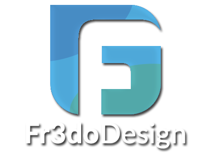 Fr3do Design - Logo - Création digitale grenoble