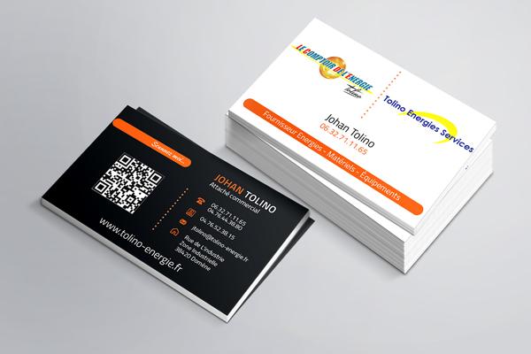 Cartes de Visites – Tolino – Le Comptoir de l'energie