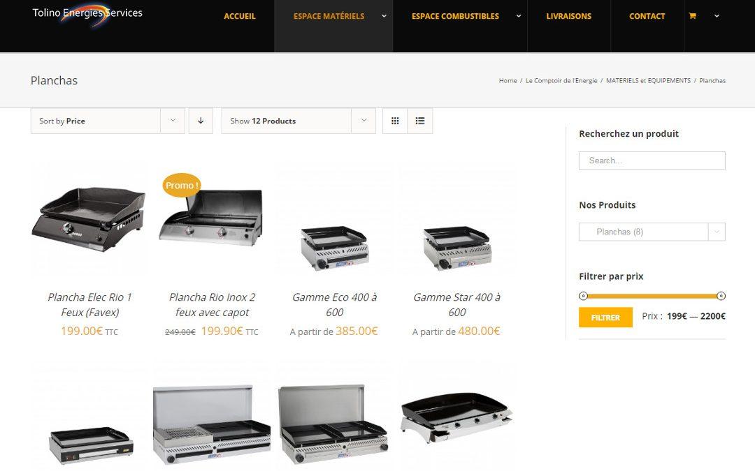 E-Commerce Tolino Energies Services