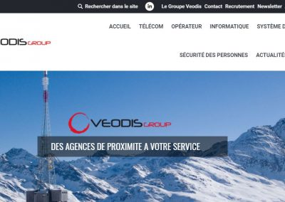 Refonte Site Internet – Veodis Group